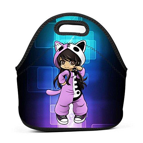 Cily-Bagge Custom Cute A-phmau Office/School/Picnic Lunch Bag For Kids/Men/Women Tote Handbag