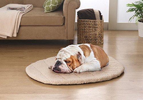 Elaine Karen Deluxe Ultra-Soft Cozy Fleece Reversible Dog Mat - PET BED - with TRAVEL BAG