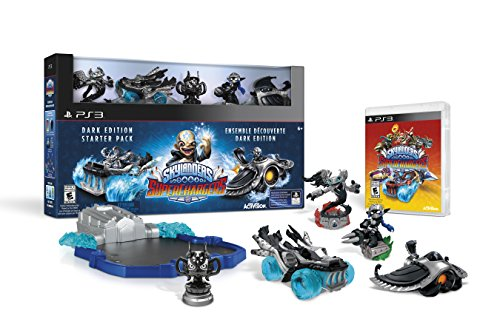Skylanders SuperChargers Dark Edition Starter Pack - PlayStation 3 - Edition Starter Pack