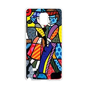 Canting_Good Romero Britto art Custom Case Shell Skin for SamSung Galaxy Note4 (Laser Technology)