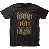 good bad ugly shirt - The Good, the Bad and the Ugly Title fitted jersey tee (Large)
