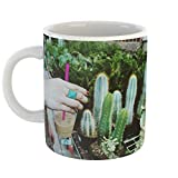Westlake Art - Coffee Cactu - 11oz Coffee Cup Mug - Modern Picture Photography Artwork Home Office Birthday Gift - 11 Ounce (C0A8-A2747)