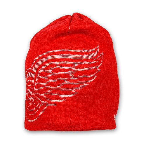 NHL Game Day Reversible Knit Hat, Detroit Red Wings, One Size Fits All
