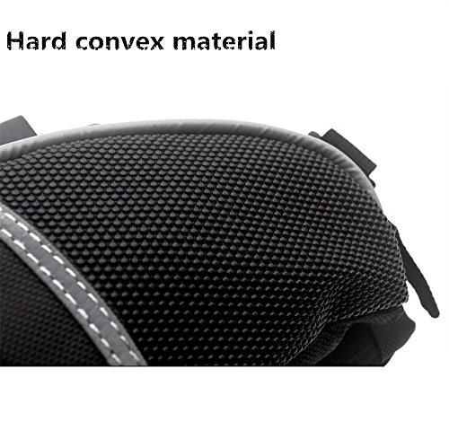 ZYPMM Fahrradtasche Fahrrad Schwanz Tasche Regenschutz stoßfeste Mountainbiking Tasche Satteltaschen (schwarz)