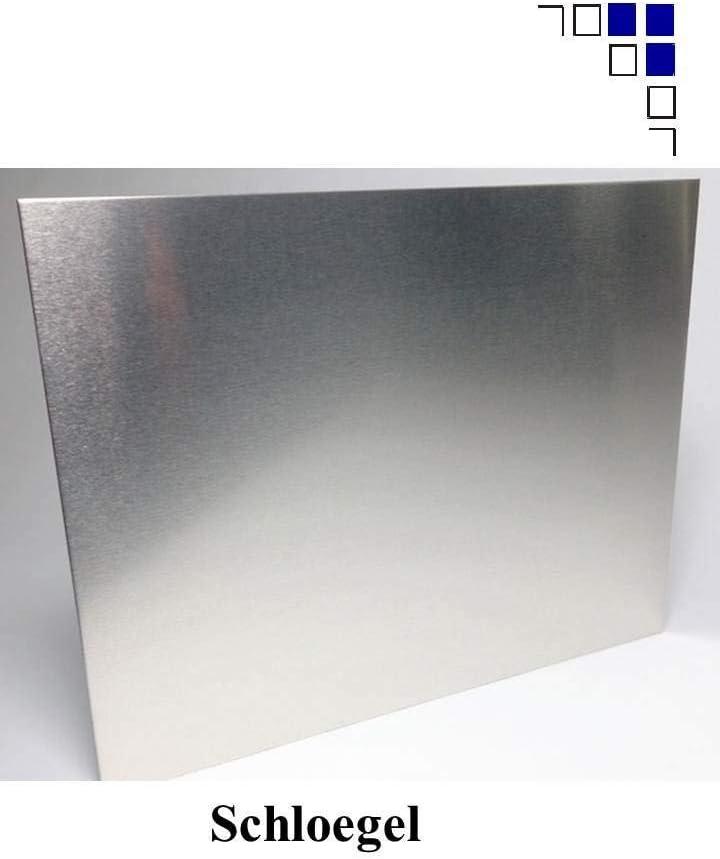 6mm Aluminium Zuschnitte eins Folie 450x400