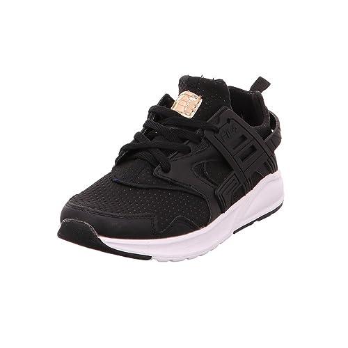 Fila Zapatillas de Material Sintético Mujer, Color Negro, Talla 41 EU: Amazon.es: Zapatos y complementos
