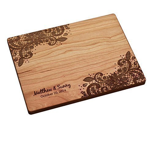Personalized Cutting Board - Lace