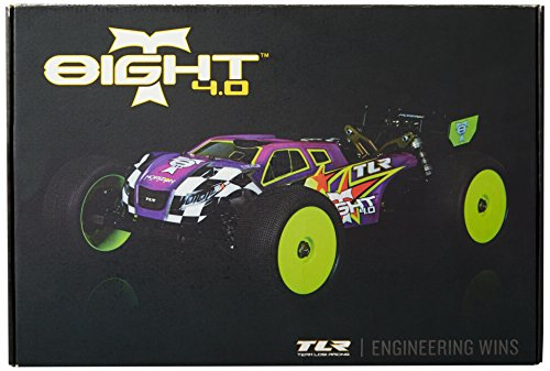 Team Losi 8IGHT-T 4WD Nitro Truggy 4.0 Race Kit (1/8 Scale) - 1/8 Off Road Starter Box