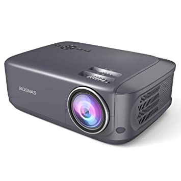 Bosnas Leisure Projector con 3800 lúmenes Full HD 1080P y 200 ...