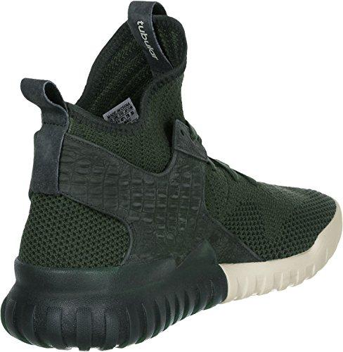 Adidas Tubular X Primeknit Hombre Zapatillas Verde