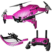 MightySkins Skin for DJI Mavic Air Drone - Pink Diamond Plate | Max Combo Protective, Durable, and Unique Vinyl Decal wrap cover | Easy To Apply, Remove, and Change Styles | Made in the USA