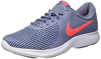 Nike Men's Revolution 4 Shoes, Ashen Slate, Flash Crimson-Diffused Blue, 7 US