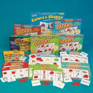 Fun and Learning Bingo Easy Pack by S&S Worldwide