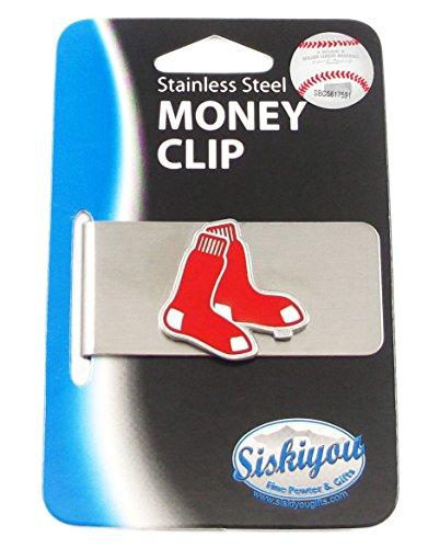 MLB Boston Red Sox Steel Money Clip (Clip Mlb)