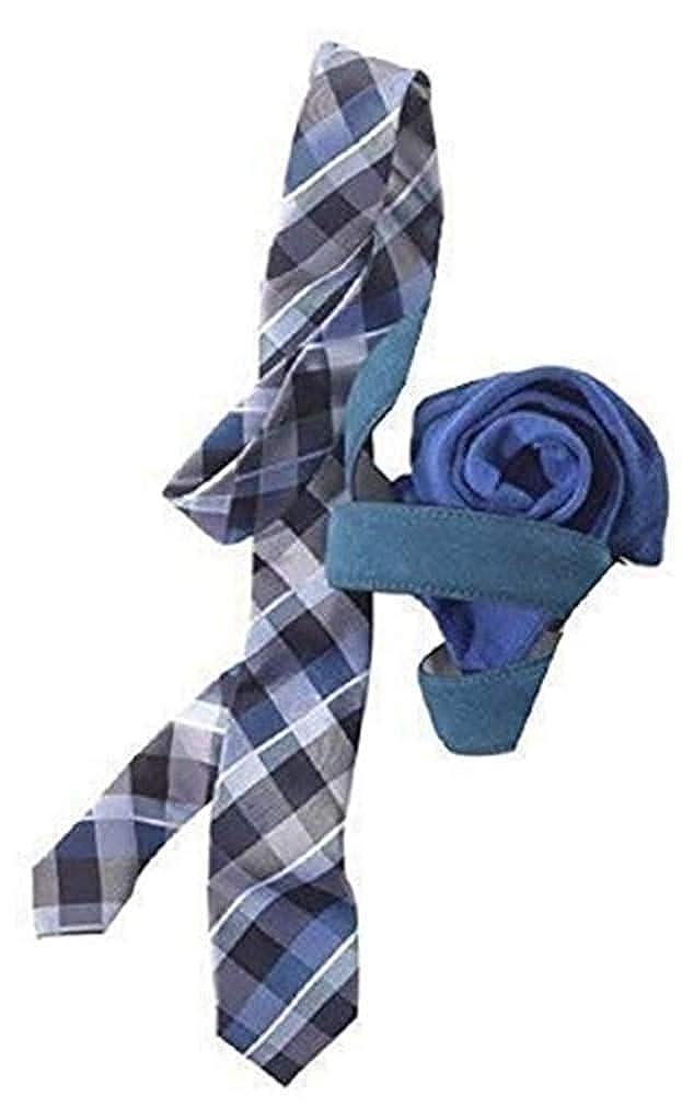 Set para Hombre: Corbata + Calcetines - Azul, 40-46: Amazon.es ...