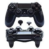 Pandaren FPS Ultra-Armor Gear case Cover for PS4 /Slim/PRO/Playstation 4 Controller (Black)