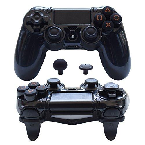(Pandaren FPS Ultra-ARMOR GEAR case cover for PS4 /SLIM /PRO/Playstation 4 controller (Black))