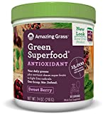 Amazing Grass Green Superfood Antioxidant Sweet Berry, 30 servings, 7.4 Ounces