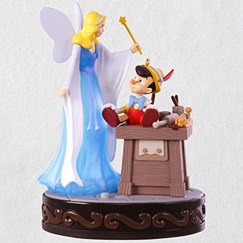 Hallmark Disney Pinocchio A Real Boy Ornament With Light and Sound keepsake-ornaments Movies & TV by Hallmark