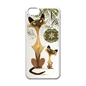 Hiqh quality cute cat Case Cover Best For Iphone 5c FGZN-U483788