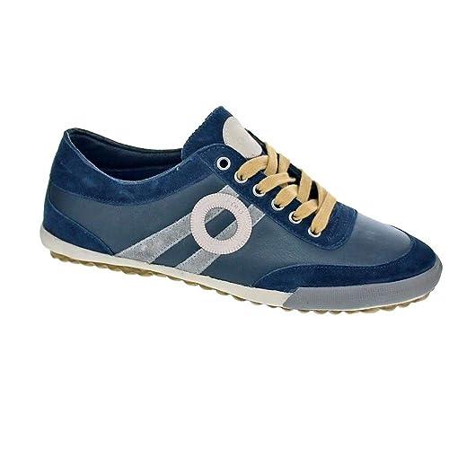 Aro Ido - Zapatillas Bajas Hombre Azul Talla 42: Amazon.es: Zapatos y complementos