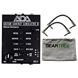 ADA GCS-5 Natural Resonance Guitar Cabinet Simulation and DI A/DA Cab Sim w/ Cle