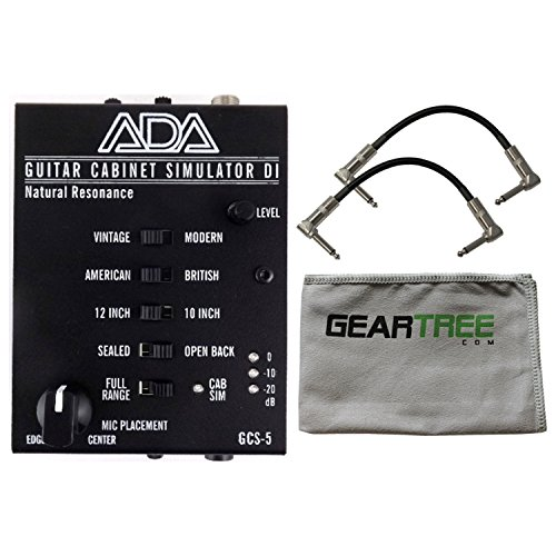 ADA GCS-5 Natural Resonance Guitar Cabinet Simulation and DI A/DA Cab Sim w/ Cle by ADA Amplification