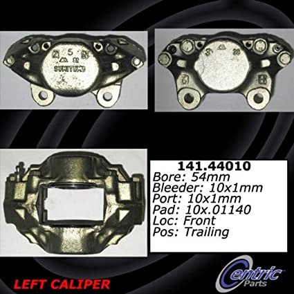 Centric Parts 141.62110 Semi Loaded Friction Caliper