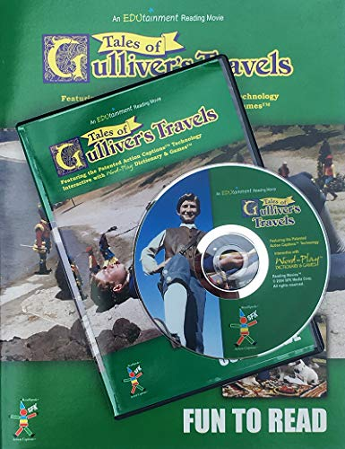 Reading Movies Gulliver's Travels Learn to Read Program - Easily Acquire Literature & Language Skills for 1st, 2nd, 3rd & 4th Graders.
