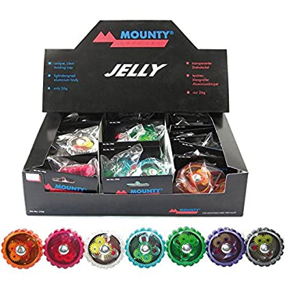 Image of Miscellaneous Unisex - Adults Jelly Miniglock, Multi-Colour, One Size Bike Bells