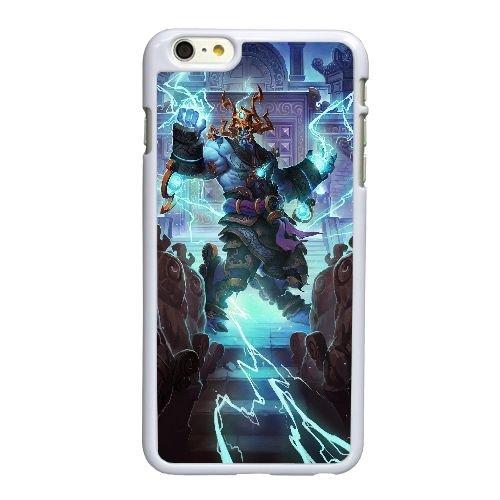 O0Y64 World of Warcraft T6H8GT iPhone 6 4,7-Zoll-Handy-Fall Hülle weißen DK2WTP6AJ decken
