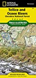 Tellico and Ocoee Rivers [Cherokee National Forest] (National Geographic Trails Illustrated Map)