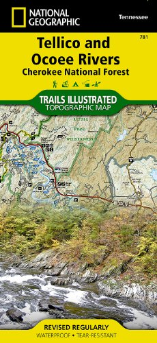 National Forest Trail Map (Tellico and Ocoee Rivers [Cherokee National Forest] (National Geographic Trails Illustrated Map))