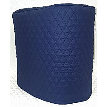 Amazon Com Quilted Food Processor Cover Navy Blue Large