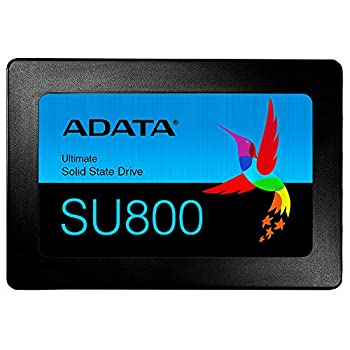 Image of ADATA USA Ultimate Su800 1TB 3D Nand 2.5 Inch SATA III Internal Solid State Drive (ASU800SS-1TT-C) Internal Solid State Drives