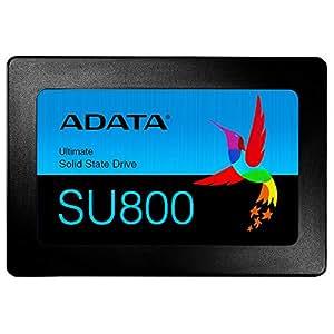 """ADATA Ultimate SU800 1TB 1024GB 2.5"""" Serial ATA III - Disco Duro sólido (1024 GB, 2.5"""", Serial ATA III, 560 MB/s, 6 Gbit/s)"""