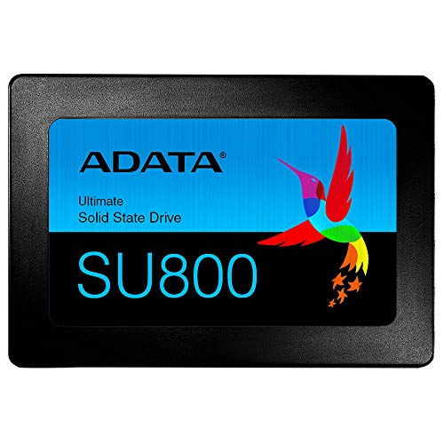 ADATA USA Ultimate Su800 1TB 3D Nand 2.5 Inch SATA III Internal Solid State Drive (ASU800SS-1TT-C) (Desktop Hard Drive Vs Laptop Hard Drive)