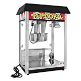 Concession Land - 8 oz. Black Popcorn Machine