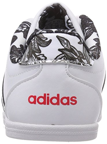 Scarpe Coneo Basse W QT Donna Vs Cblack Ftwwht 000 Ftwwht Ginnastica da adidas Bianco xFZnSIwqC