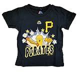 "Pittsburgh Pirates Toddler Black ""Snack Attack"" T-Shirt"