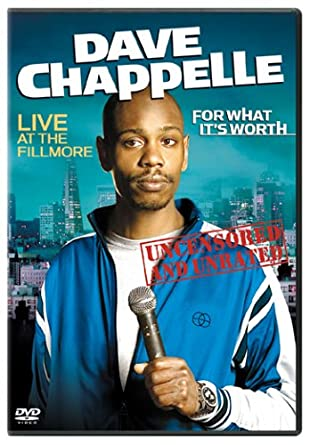 dave chappelle stand up dvds