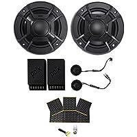 Polk Audio DB5252 5.25 600w Component Car/Marine//Motorcycle Speakers + Rockmat