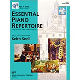 Keith Snell Essential Piano Repertoire Level 5 GP455