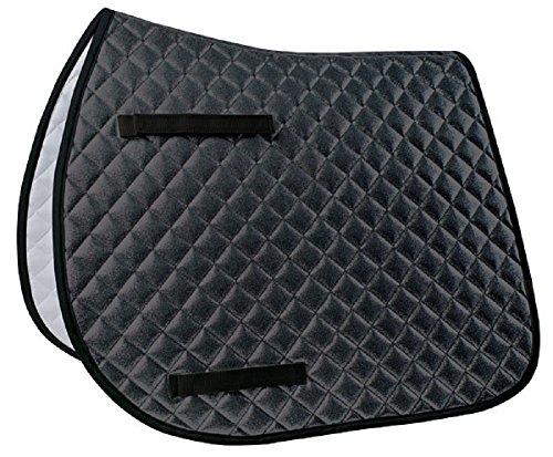 Lettia Sparkly Dressage Pad Black