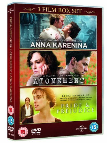 Anna Karenina / Pride & Prejudice / Atonement (Triple Pack) [DVD] [2007] by Universal Pictures UK