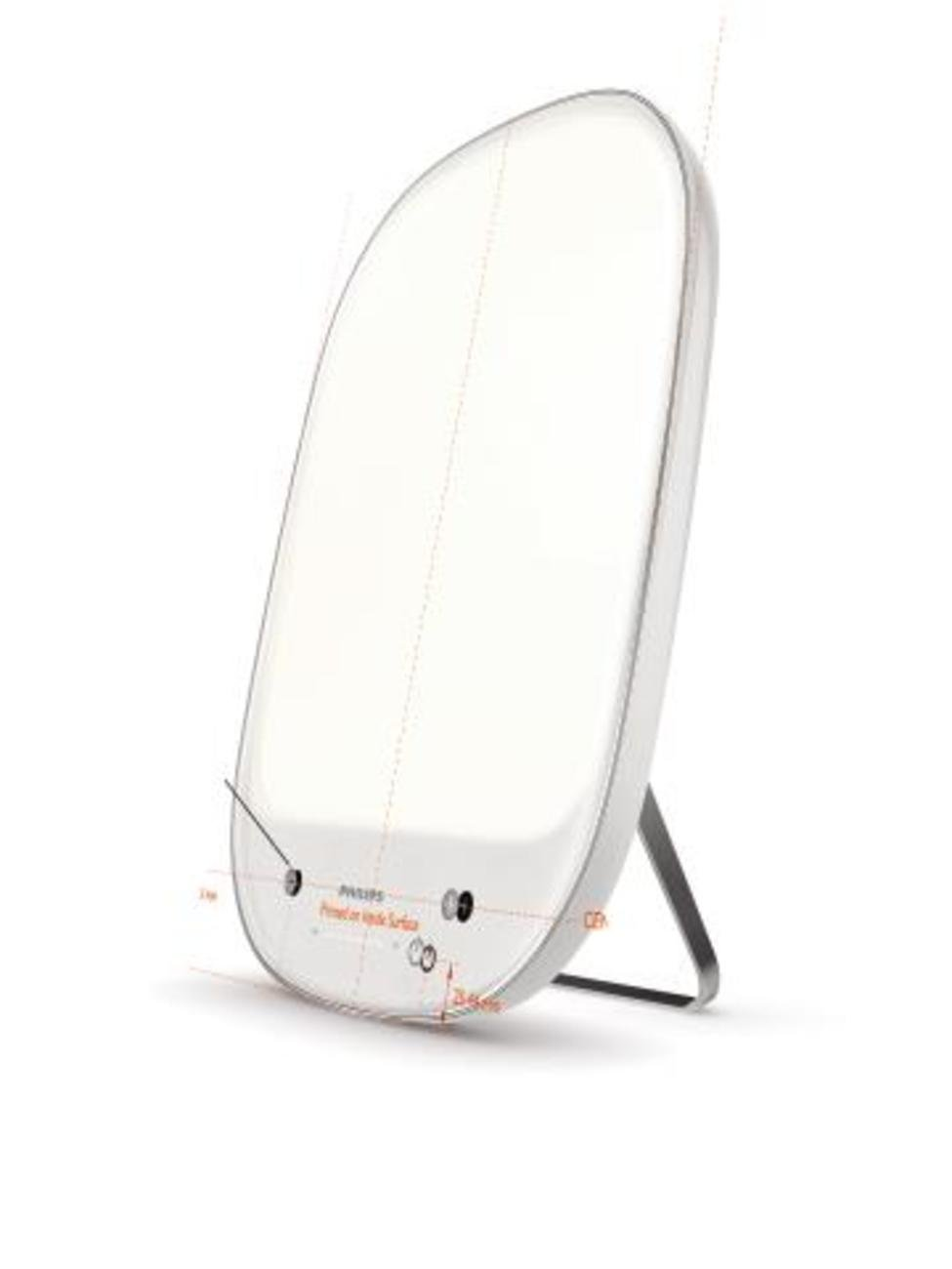 Philips Natural Energy White Light Therapy Medical Grade, White/Silver HF3418/60 by Philips (Image #2)