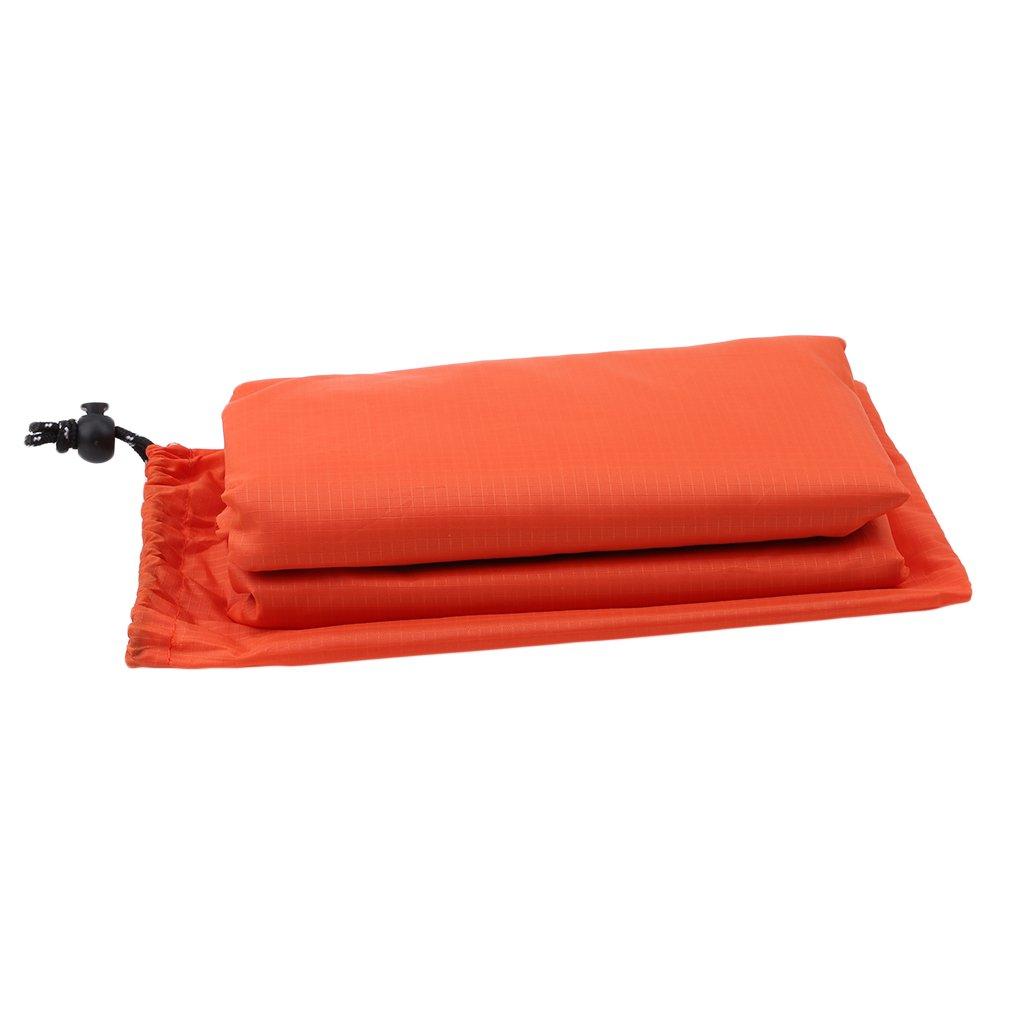 LnLyin Cape de Pluie 3/en 1/Multifonction Portable Imperm/éable avec Capuche Tapis de Camping Randonn/ée V/élo Housse de Pluie Poncho pour Activit/és de Plein air