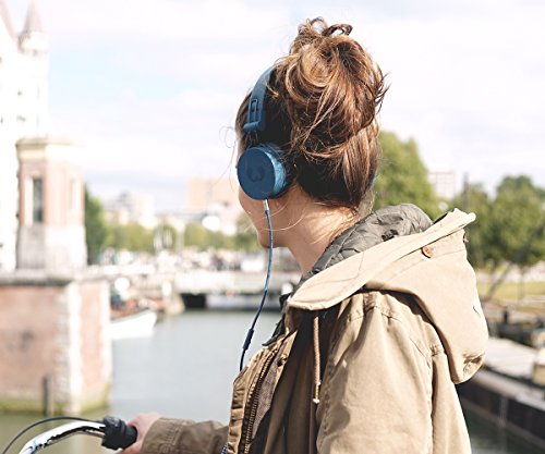 50bfa35b4c9 Fresh 'n Rebel Caps On Ear Headphones Indigo: Amazon.in: Electronics