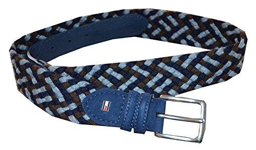 Tommy Hilfiger Men's Braided Casual Belt
