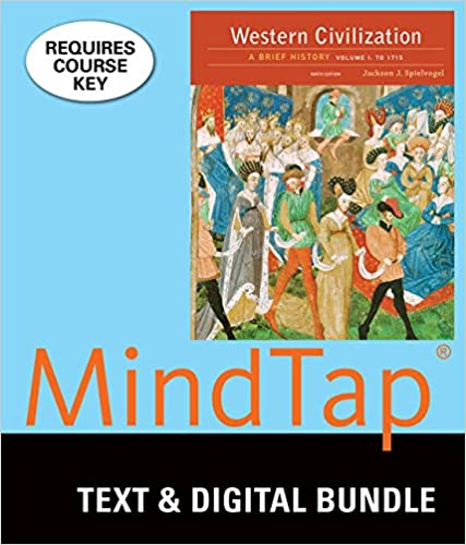 Amazon bundle western civilization a brief history volume i bundle western civilization a brief history volume i to 1715 loose leaf version 9th lms integrated for mindtap history 1 term 6 months printed fandeluxe Choice Image